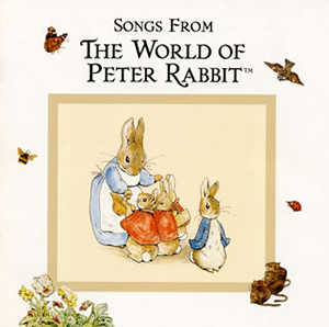 ピーターラビットの音楽CD 「ピーターラビットTMと森の仲間たち」